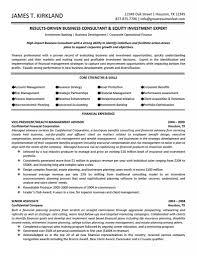 best business consultant resume consultant resume livecareer
