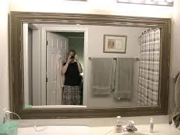 amazing cherry wood framed bathroom mirrors wood framed bathroom mirrors bathroom decor gray wall paint large