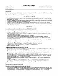 Accomodation Officer Sample Resume Case Managerple Job Description Housing Officer Resume Ubisoft Game 3