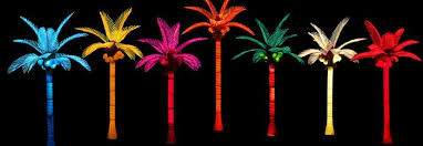 cozy pacific lights inc led lighted palm trees wonderful light up palm