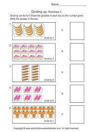 Simple Division Worksheets #4