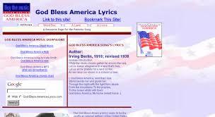 God Bless America Chord Chart Access God Bless America Lyrics Com God Bless America