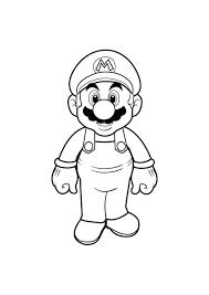 Kleurplaat Mario En Yoshi Ausmalbilder Mario Bros Malvorlagen