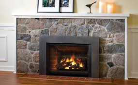 convert fireplace to gas. Valor Legend G4 With Square Trim Kit In Vintage Iron (791STV) And Red Convert Fireplace To Gas