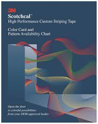 3m Scotchcal Vinyl Color Chart 3m Scotchcal Color Card 83005 1 Per Set