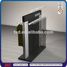 Leather Belt Display Stand Gorgeous TSDW32 Fashion Floor Double Sided Belt Display For Retail Belt