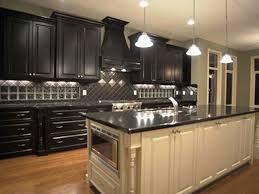 minimalist kitchen travertine countertops black distressed with regard to secret to create distressed black kitchen cabinets