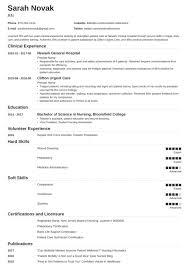 034 New Grad Nursing Resume Template Ideas Graduate Nurse