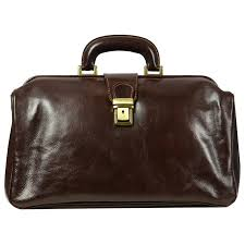 dark brown leather doctor bag the pursuit of love