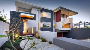 Decor: White Modern House Colors With Pretty Outdoor And Balcony ...