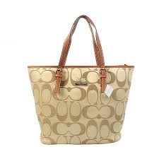 Coach Legacy In Monogram Medium Khaki Totes BYT