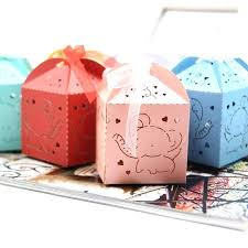 diy party kids favors cute elephant candy box paper gift boxes party favors for kids birthday