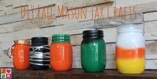 how to make mason jar fall crafts candy corn mummies more