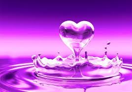 HD Purple heart Wallpaper I Heart Hearts Pinterest Purple.