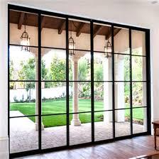 2018 top quality grill design aluminum tempered glass sliding door