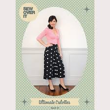 Culottes Pattern Classy Sew Over It Ultimate Culottes PDF Sewing Pattern Sew Over It