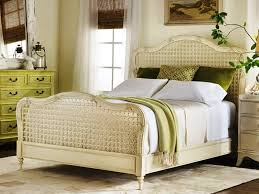 Modern Cottage Bedroom French Cottage Style Bedroom Two Drawers Side Bed Table White