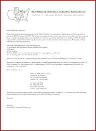 athletic scholarship cover letter examples athletic cover letter