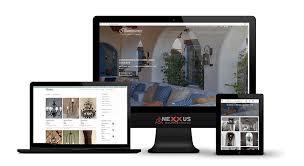 Site Disign Lighting Manufacture Website Design Project Nexxus Designs