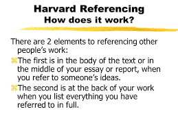 referencing harvard style a guide zhow to refer to writers in 4 harvard referencing