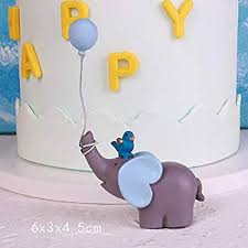 elephant gift box lovely elephant balloon lollipop gifts blue pink happy collection cake per