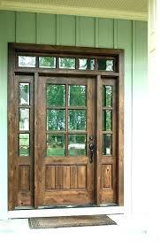wood door with glass insert front door glass replacement inserts glass replacement front door s repair