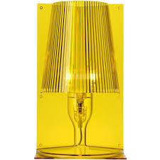 ferruccio laviani lighting. Kartell - Ferruccio Laviani Take Table Light Yellow Lighting A