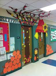 cool door designs for school. Make A Fall Tree And Scarecrow For Door Decoration Outside Your Classroom So Cool! Cool Designs School