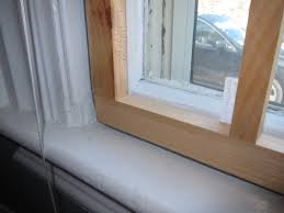 installed interior removable storm window