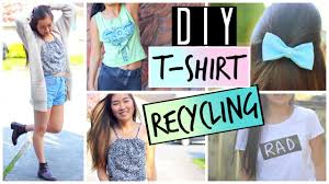 Upcycling Clothes Diy Ways To Upcycle And Recycle Old T Shirts And Clothes Diy