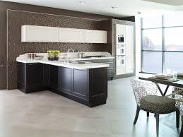 Porcelanosa Kitchen Cabinets Traditional Kitchen Wooden Island Lacquered G445