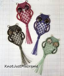 Free Macrame Patterns Stunning DIY Adorable Macrame Owls Video