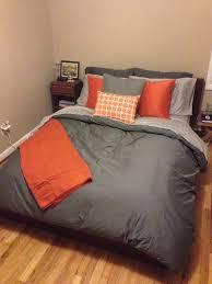 amazing gray and orange bedding magiel for orange and grey comforter orange and grey comforter
