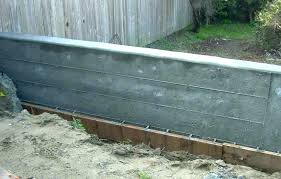 concrete retaining wall cost concrete retaining wall how to build a concrete wall poured concrete retaining