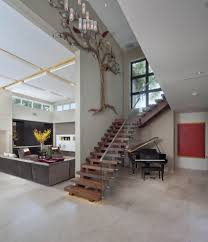 Stairs Wall Decoration Ideas Spectacular Wall Art Tree Decorating Ideas Images In Staircase