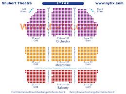 Shubert Theater New York City Seating Chart Shubert Theatre On Broadway In Nyc