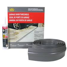 gray garage door threshold kit