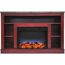 47 in electric fireplace