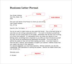 14 Proper Letter Formats Free Sample Example Format
