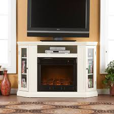 southern enterprises claremont convertible ivory electric fireplace a console hayneedle