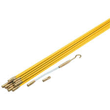 33 electric fiberglass wire pull rods fish tape amazon com