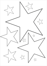 6 Star Coloring Pages Free Premium Templates Star Coloring Pages