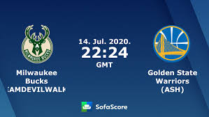 Milwaukee Bucks (IAMDEVILWALK) Golden State Warriors (ASH) live score,  video stream and H2H results - SofaScore