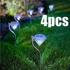 Package List:<b>4 pcs solar led</b> diamond lightFeatures:light color: as ...