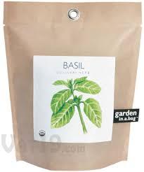 garden in a bag. Garden-in-a-Bag - Basil Garden In A Bag