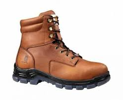 carhartt men s cmz8040 8 work boot brown oil tanned leather