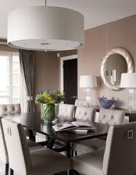 tufted dining room chairs bring simplicity