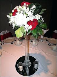 glass vases for weddings glass vase wedding centerpieces lovely red and white decor beautiful home vases