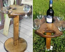adirondack chair with wine glass holder indoor outdoor wine glass and bottle holder with by nwpabackwoods