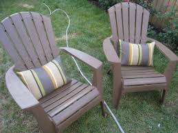 awesome adirondack chair cushions for your patio decor idea grey stripped adirondack chair cushions for